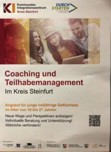KI Plakat Coaching und Teilhabemanagement